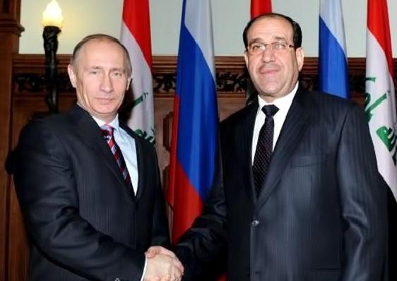 المالكي يجري سلسلة لقاءات في موسكو