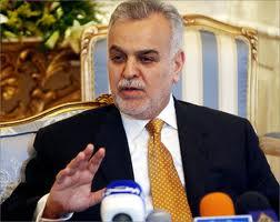 """الهاشمي: الحل من خلال """"طائف"""" عراقي برعاية عربية ودولية لإنقاذ العراق من محنته"""