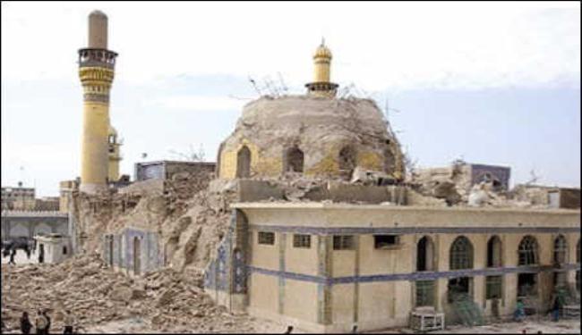 """مصدر امني:إلقاء القبض على ضابط في بيجي """"متورط"""" في تفجير مرقد الإمامين العسكريين"""