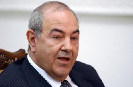 اياد علاوي:على الشعب العراقي ان يستفاد من الدور المشرف للشعب المصري ضد الطغيان والظالمين وسراق المال العام
