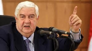 المعلم يعتقد ان الوصول إلى إيران هو الهدف مما يجري في سوريا والعراق