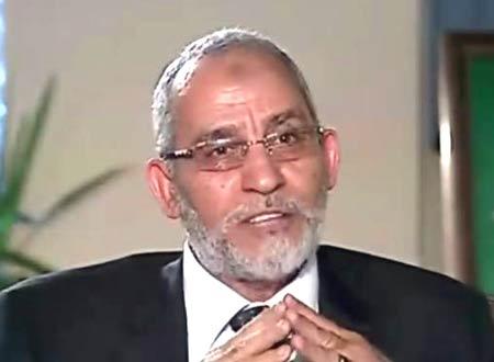 اعتقال على المرشد العام لجماعة الاخوان في مصر