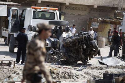ارتفاع حصيلة ضحايا السيارة المفخخة في تلعفر إلى {24} مدنيا بين شهيد وجريح