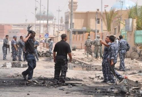 مقتل واصابة خمسة مدنيين في انفجار عبوة ناسفة شمال بغداد