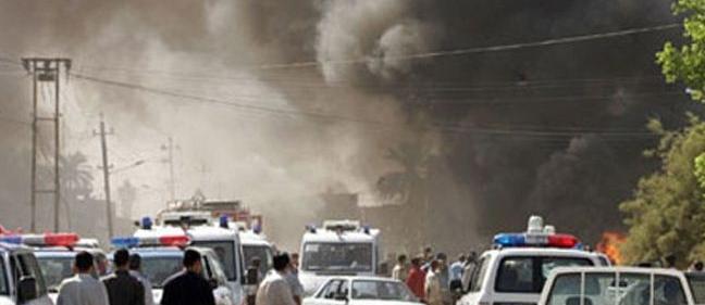 مقتل 16 واصابة 85 حصيلة اولية لتفجيرات بغداد