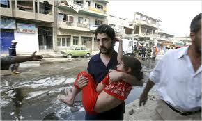 اكثر من عشرة تفجيرات في بغداد  اليوم