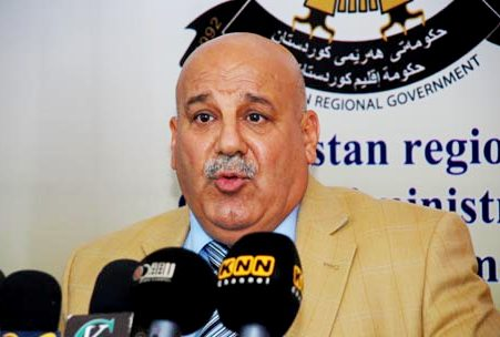 جبار ياور:سنرسل البيشمركة لحماية المنطقة الخضراء حال الطلب من بغداد !