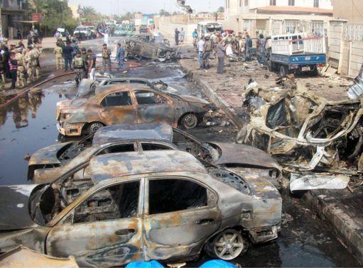 استشهاد وإصابة 61 شخصاً بتفجير إنتحاري في  طوزخورماتو