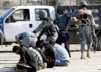 اعتقال 10 اشخاص من المطلوبين وفق المادة 4 ارهاب في الموصل