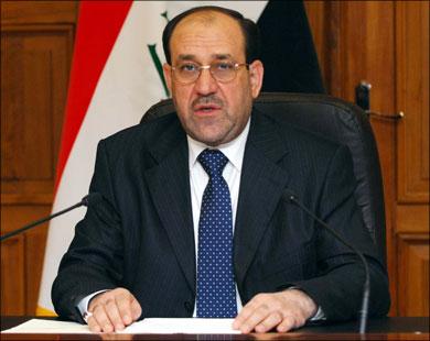 المالكي يطرح مبادرة من تسعة نقاط لانهاء الصراع الدائر في سوريا