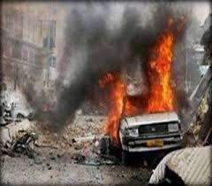 انفجار سيارة مفخخة في منطقة الشرطة الرابعة ببغداد