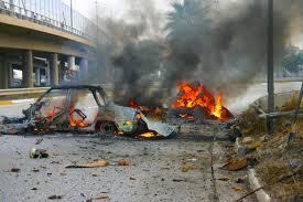 انفجار سيارتين مفخختين في منطقة الطالبية ببغداد وانباء عن سقوط ضحايا من المدنيين