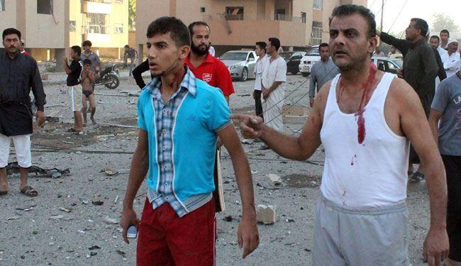 قتلى وجرحى في تفجيرين انتحاريين وقعا وسط مدينة سامراء