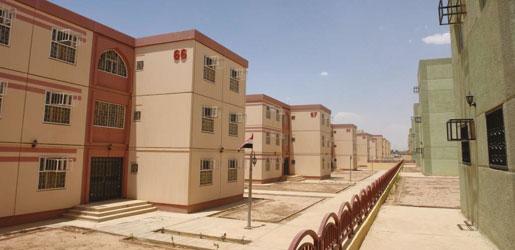 بناء 100 الف وحدة سكنية في البصرة