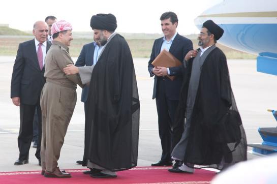 الصدر:المالكي رفض هدية الكرد لزيادة الانتاج الكهربائي في النجف!