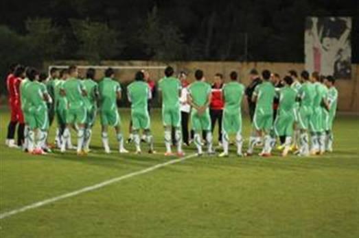 المنتخب الوطني يُكمل تحضيراته لمواجهة السعودية بخوض مباراة ودية أمام الاريتيري .