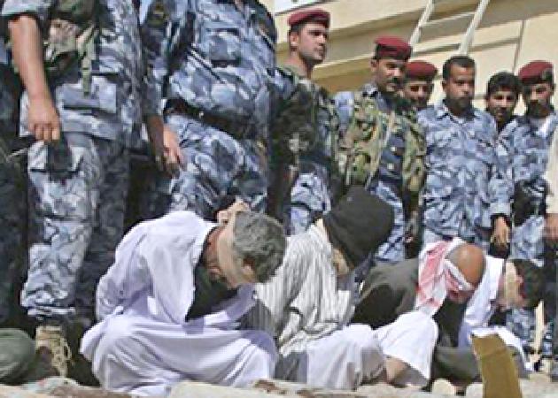 اعتقال( 14) شخصا في عملية دهم وتفتيش نفذتها الاجهزة الحكومية شمال تكريت