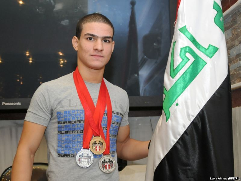 دعوة اماراتية للرباع الشاب كرار محمد لحضور الحفل الختامي لجائزة الابداع الرياضي