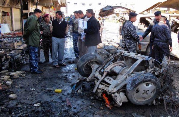 عدة أنفجارات تهز العاصمة بغداد