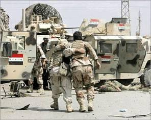 استشهاد جنديين وإصابة ضابط وجندي بجروح متفاوتة اثر انفجار عبوة ناسفة على دوريتهم جنوب بغداد