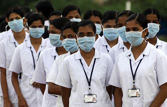 وصول 72 ممرضة هندية الى صحة نينوى و الطبيبات يصلن قريبا
