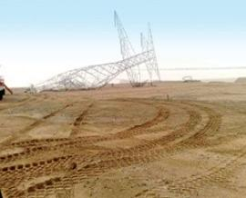 محافظ ديالى يحذر الاهالي من بناء العشوائيات تحت خطوط نقل الطاقة الكهربائية