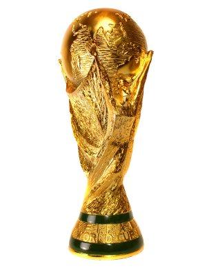 كأس العالم يصل الى السعودية في طائرة خاصة