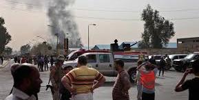 مصدر:مقتل 10 اشخاص حصيلة تفجيرات بغداد مساء امس