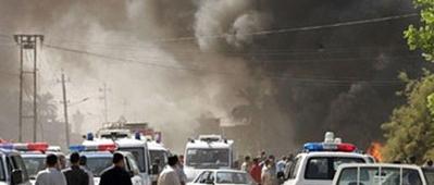 انفجار مفخخة قرب امانة بغداد