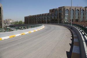 بعد انفاق المليارات عليه ..غلق مجسر الاذاعة وسط بغداد !