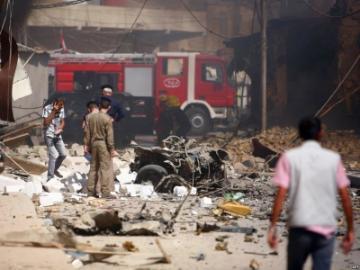 مقتل واصابة 9 اشخاص بانفجار ملغمة في الحلة