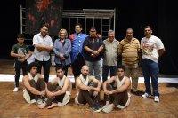 المسرح الوطني : عمل مسرحي للفنان عماد نافع بعنوان ( بقعة النور)