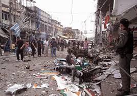 مقتل واصابة 100 شخص بتفجيري قضاء الطوز