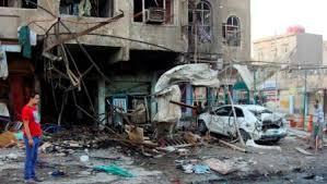 مقتل واصابة 112 شخصا الحصيلة النهائية لتفجيرات بغداد مساء أمس