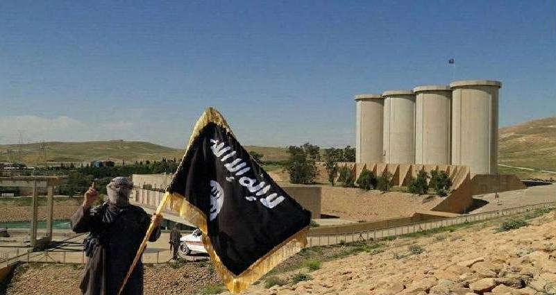 سد الموصل بالكامل بيد البشمركة