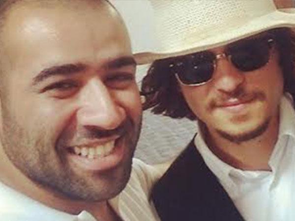 """بشار الشطي يلتقط """"سيلفي"""" مع جوني ديب"""