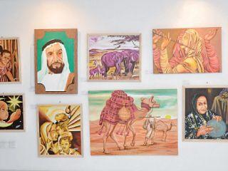 معرض «في بيتنا لوحة» يكسر حاجز الأسعار