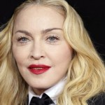 Madonna arrives at the 56th annual Grammy Awards in Los Angeles