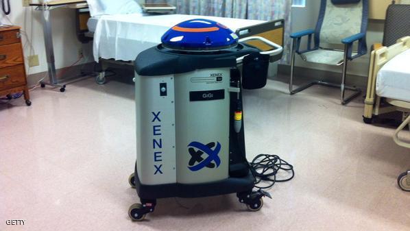 Xenex the germ zapping robot