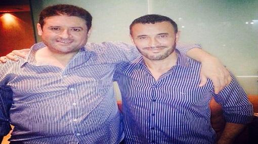 كاظم الساهر حزين على وفاة شقيقه وشيرين تواسيه