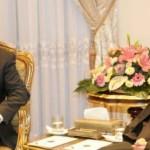 السيد-الرئيس-خلال-لقائه-بالرئيس-الايراني-حسن-روحاني-17-12-2014-685x320