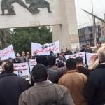 متظاهرو بغداد ضد أمين عاصمتهم