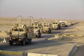 القوات البرية الامريكية تصل الكويت استعدادا لتنفيذ عملياتها في العراق