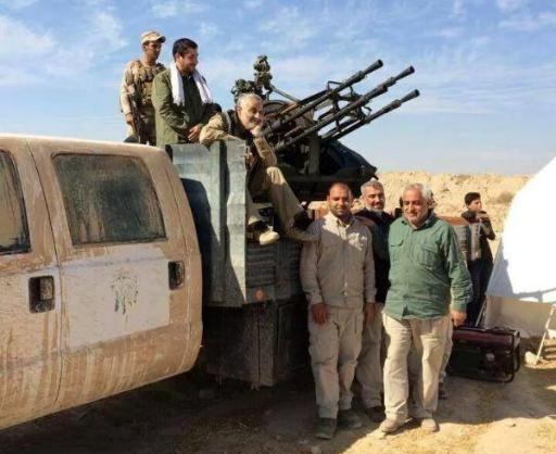 الجنرال سليماني يعادل 2753 ضابط عراقي برتبته وأعلى! … بقلم :علي الكاش