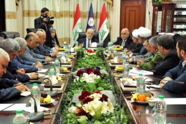 قادة-التحالف-الشيعي-خلال-اجتماعهم-برئاسة-الجعفري-وحضور-العبادي