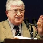 large-الرئيس العراقي فؤاد معصوم - أ ف ب