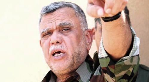 العامري:نرفض التواجد الامريكي في العراق!
