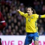 EURO playoff between Denmark and Sweden