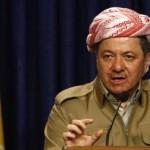 Massud Barzani, president of the autonom