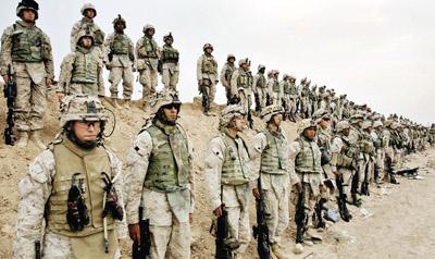 الجيش الامريكي : قوات المارينز في العراق